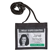 """Staples® ID Credential Holders, 4 1/2""""H x 5""""W"""