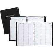 "2019 Staples® Large Weekly Appointment Book/Planner, 14 Months, 8"" x 11"", Black (21494-19)"