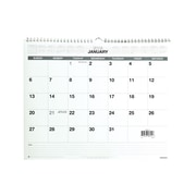"2019 Staples® Monthly Wall Calendar, 12 Months, January Start, 15"" x 12"", Grey (52080-19)"