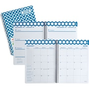 "2019 Staples® Large Weekly/Monthly Planner, 12 Months, 8"" x 11"", Hygge (26559-19)"