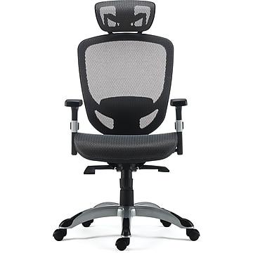 FlexFit™ Hyken Mesh Task Chair, Charcoal Gray (UN59464)