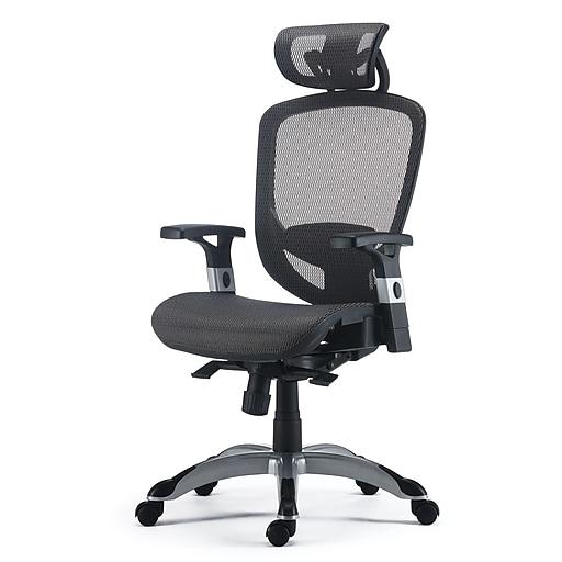 Hyken Black Chair Staples