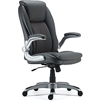 Deals on Staples Sorina Bonded Leather Chair 53253