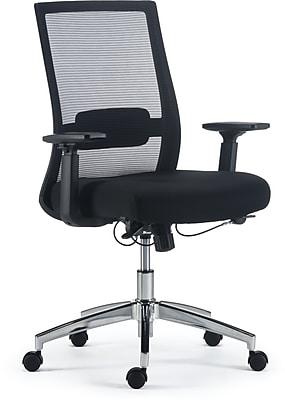 Staples Marrett Mesh and Fabric Task Chair, Black