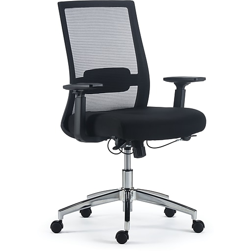 Staples Marrett Mesh and Fabric Task Chair