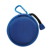 Staples Earbud Case with Carabiner,  Blue