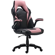 Staples Gaming Chair, Black and Pink