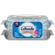 Kleenex® Cottonelle® Fresh Care Flushable Cleansing Cloths, 84 Cloths/Pack (35970)