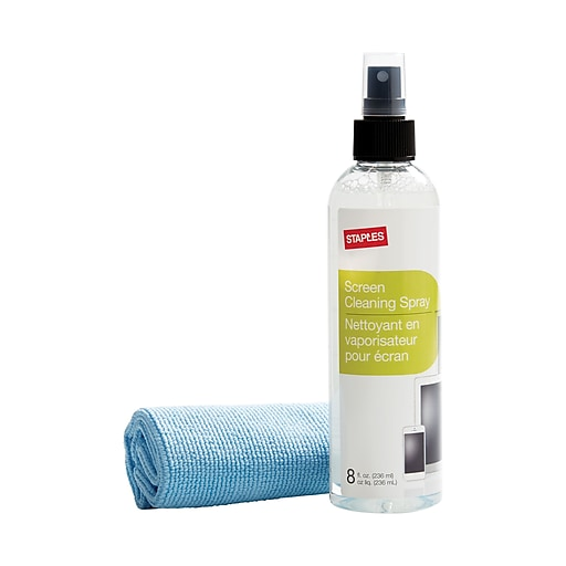 Staples Cleaning Kit Wcloth Staples