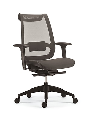 Staples Ilano Mesh Task Chair, Grey