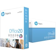 "HP Office20 8.5"" x 11"" Multipurpose Paper, 20 lbs., 92 Brightness, 500/Ream, 10 Reams/Carton (HPC8511)"