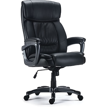 Staples Lockland Bonded Leather Big & Tall Managers Chair (53235)