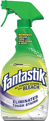 Fantastik® All-Purpose Cleaner w/Bleach, 32oz. (696716)