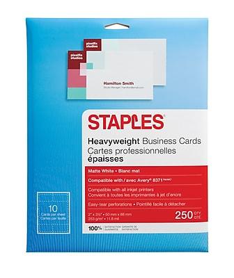 Staples® Inkjet Business Cards, 2