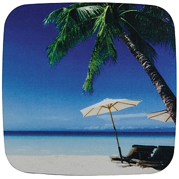 Staples Fashion Mouse Pad, Beach Scene (52094)
