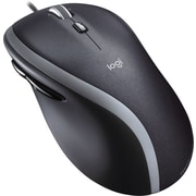 Logitech M500 Laser Wired Mouse, Black (910-001204)
