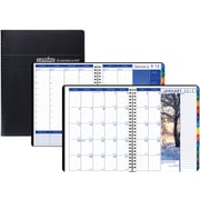 House of Doolittle 2019 Monthly/Weekly Tabbed Earthscapes™ Planner 8-1/2 X 11  Inches (HOD27302)