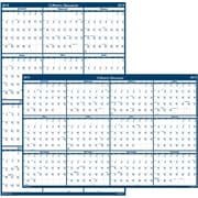 house of doolittle 2019 laminated reversible wall planner calendar 18 x 24 inches hod3960