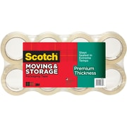 Scotch® Premium Thickness Moving & Storage Packaging Tape, 1.88 in x 60 yds., 8 Rolls (3631-54-8)