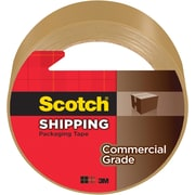 "Scotch® Commercial Grade Shipping Packing Tape, 1.88""W x 54.6 Yards, Tan (3750T)"