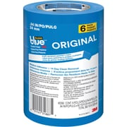 "ScotchBlue™ ORIGINAL Painter's Tape Value Pack, 0.94"" x 60 yds., Blue, 6/Rolls (2090-24EVP)"