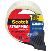 Scotch® Extreme Shipping Strapping Tape with Dispenser, 22 yds., Translucent (8959-RD)