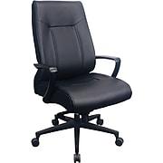 Tempur-Pedic Bonded Leather Executive Chair, Black (TP2500-BLKL)