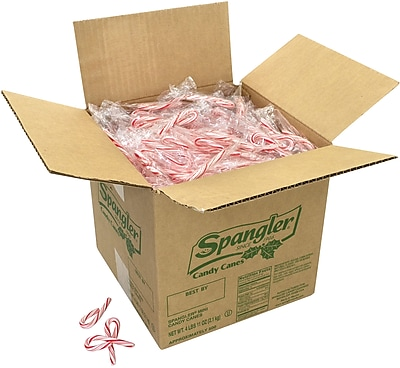 Spangler Mini Candy Canes, 500 Pieces/Box (211-00016)