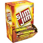 Slim Jim, Meat Sticks, Original, 0.28 Oz., 100/Box