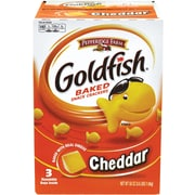 Pepperidge Farm Goldfish Crackers, Cheddar, 58 Oz. (220-00430)