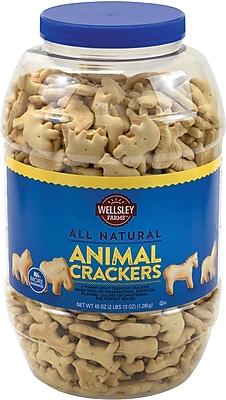 Healthy Helpings Natural Animal Crackers 45 oz (220-00464)
