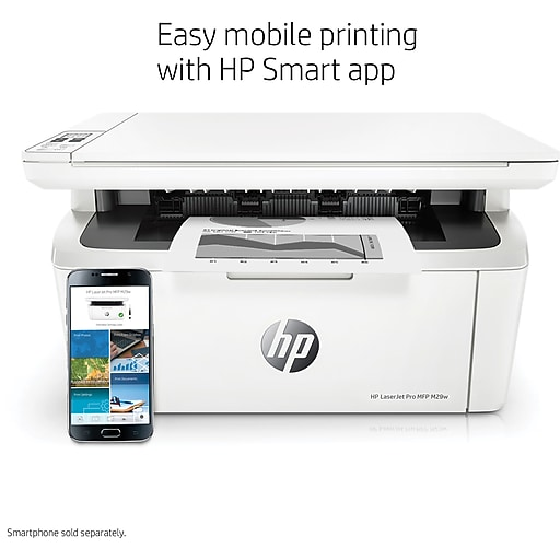 HP LaserJet Pro M29w All-in-One Wireless Laser Printer