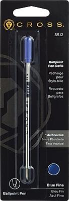 Cross® Ballpoint Pen Refill Fine Blue (8512)