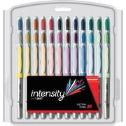 BIC Intensity Permanent Markers, Ultra Fine Point, Assorted Colors, 36/Pack (GPMUP361)