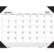 House of Doolittle 2019 Monthly Desk Pad Calendar Economy 18-1/2 x 13 Inches (HOD012402)