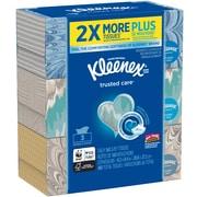 Kleenex® 2-Ply Facial Tissue, Flat Box, 160 Sheets/Box, 3 Boxes/Pack