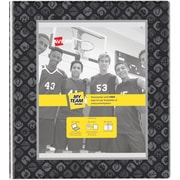 """Avery My Team View Binder with 1"""" Round Rings; Sports Frame, Black (17223)"""