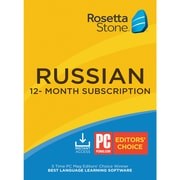 Rosetta Stone Learn Russian for 1 User, 12 month License, Windows and Mac Download (DGWBDM2ZLG2FHZB)