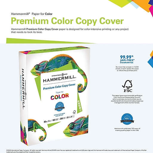 Hammermill color copy digital cover stock photo white 8 12w x httpsstaples 3ps7is wajeb Image collections