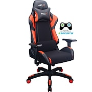 Staples Helix Gaming Chair with Cooling Technology, Red (53211)