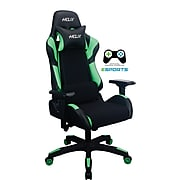 Staples Helix Gaming Chair with Cooling Technology, Green (53210)