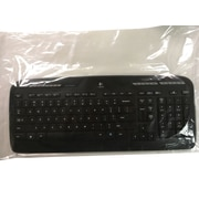 "Disposable Plastic Keyboard Cover, 21"" x 12"", Clear"