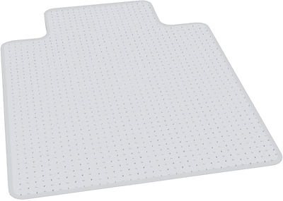 ES Robbins Anchormat™ Chairmat, For High Pile Carpets, Wide Lip, 45