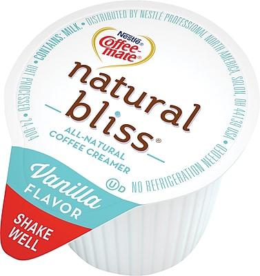 Nestle® Coffee-Mate® Natural Bliss® Vanilla Coffee Creamer Singles, 180 Count (NES54577)