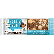 Nothin' But Chocolate Coconut Almond Premium Snack Bars, 1.4 Ounce, 12 Count (BBD02002)