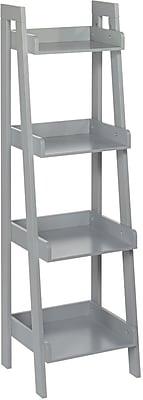 RiverRidge® 4-Tier Ladder Shelf for Kids, Gray (02-071)