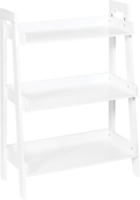 RiverRidge® 3-Tier Ladder Shelf for Kids White (02-068)