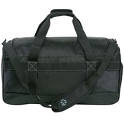 Perry Ellis Medium Weekender Travel Duffel Bag with Shoe Pocket (PE-SD-A222-BK)