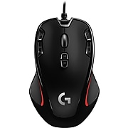 Logitech G300S Optical Wired USB Gaming Mouse, Black (910004360)