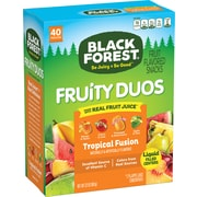 Black Forest® Fruit Duos Mixed Pouches, Pack of 40 (FER01373)